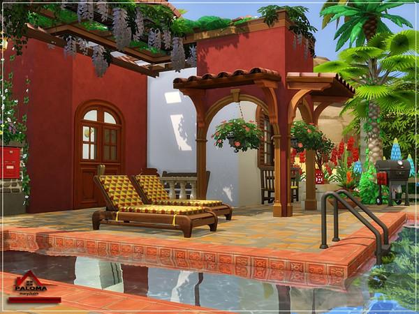 Paloma house No CC by marychabb at TSR image 8411 Sims 4 Updates