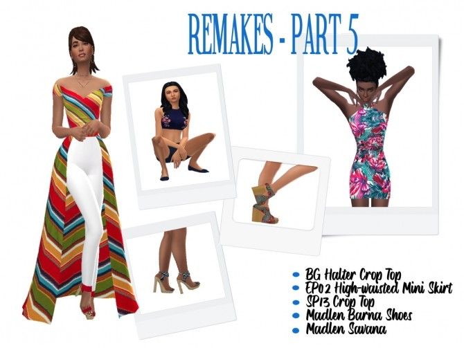 Sims 4 REMAKES Part 1 7 at Sims4Sue