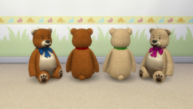 Teddy bear by hippy70 at Mod The Sims image 8618 670x378 Sims 4 Updates
