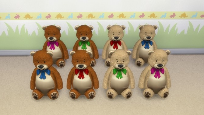 Teddy bear by hippy70 at Mod The Sims image 8718 670x378 Sims 4 Updates