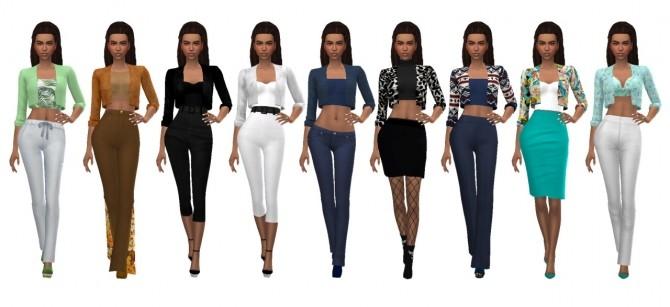 Sims 4 JULIEJ'S JACKET Recolors at Sims4Sue