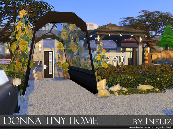 Sims 4 Donna Tiny Home by Ineliz at TSR