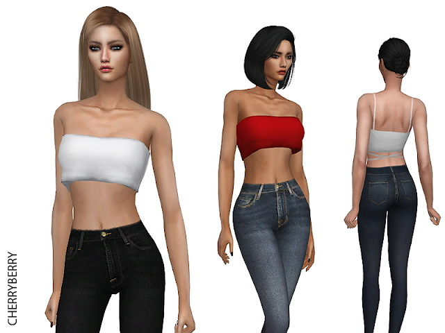 Classic Skinny Jeans at Cherryberry image 9013 Sims 4 Updates
