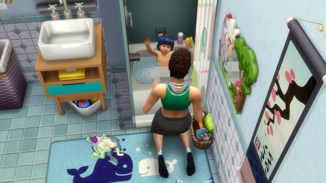 Shower Toddler/Pet Tub Combo by K9DB at Mod The Sims image 906 670x377 Sims 4 Updates