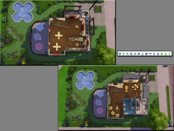 MB Cafe Belfry by matomibotaki at TSR image 930 Sims 4 Updates