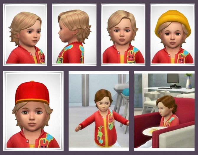Sims 4 Toddler Surfer Hair at Birksches Sims Blog