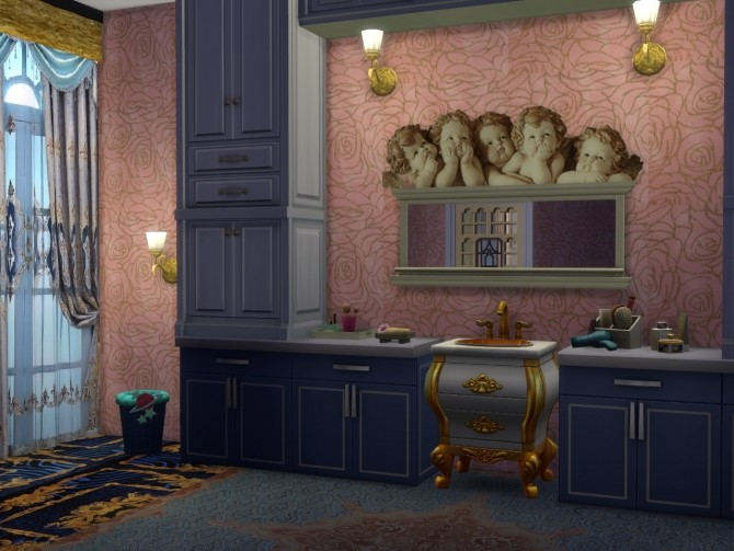 Sims 4 New Walls For Castles at Anna Quinn Stories