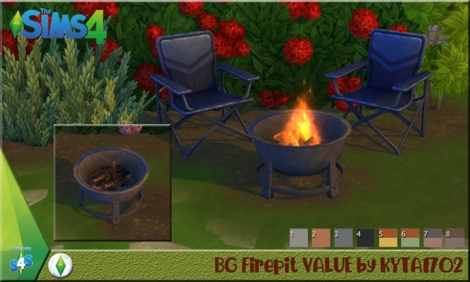Firepit VALUE at Simmetje Sims image 964 670x402 Sims 4 Updates