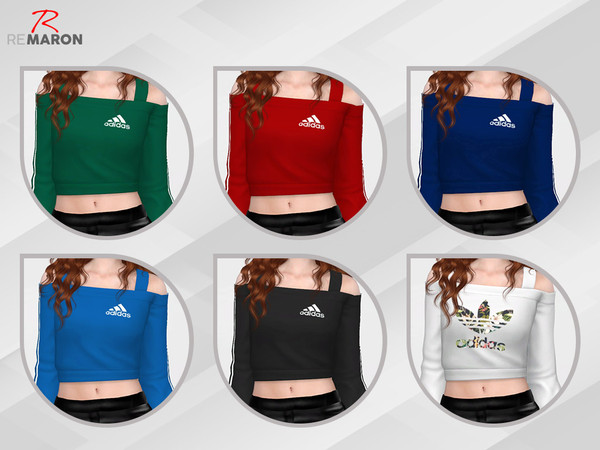 Sims 4 Sweater for Women by remaron at TSR