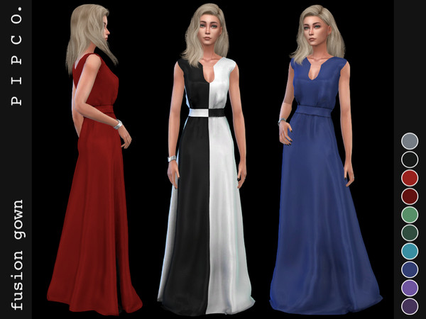 Fusion gown by Pipco at TSR image 968 Sims 4 Updates