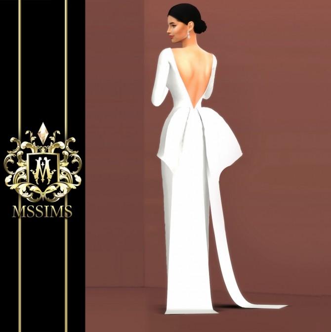 BRIDE WEDDING   POEM DRESS (P) at MSSIMS image 969 670x671 Sims 4 Updates