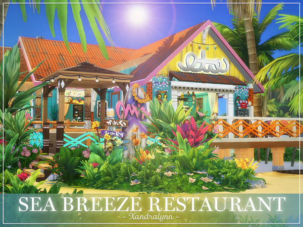 Sea Breeze Restaurant by Xandralynn at TSR image 988 Sims 4 Updates