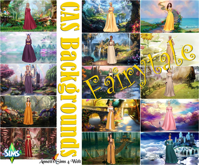 Fairytale CAS Backgrounds at Annett's Sims 4 Welt image 992 Sims 4 Updates