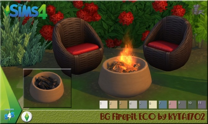 Firepit ECO at Simmetje Sims image 994 670x402 Sims 4 Updates