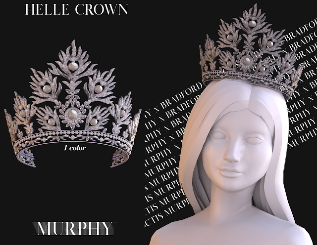 Helle Crown by Silence Bradford at MURPHY image 996 Sims 4 Updates