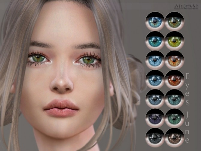 Sims 4 June eyes by ANGISSI at TSR