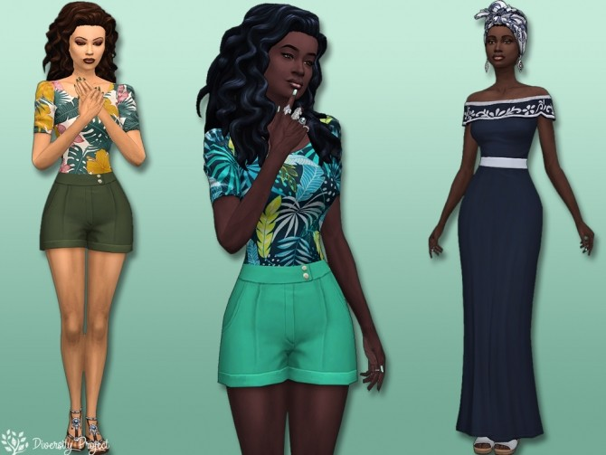 Spring Collection 2020 at Sims 4 Diversity Project image 10018 670x503 Sims 4 Updates