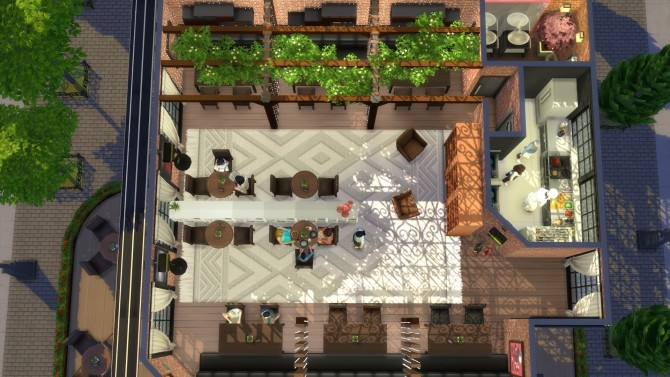 Restaurant San Diego by Viktoriya9429 at Mod The Sims image 10222 670x377 Sims 4 Updates