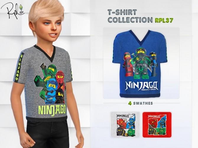 Sims 4 T shirt Collection RPL37 by RobertaPLobo at TSR