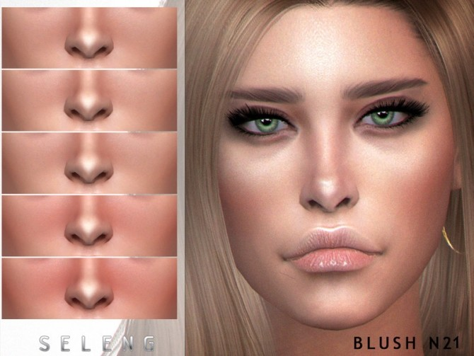 Blush N21 by Seleng at TSR image 1034 670x503 Sims 4 Updates