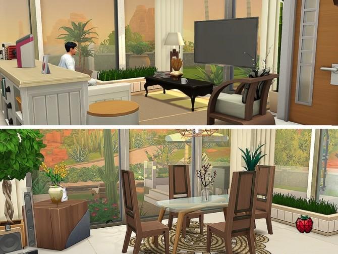 Sims 4 Brandon small house no cc by melapples at TSR