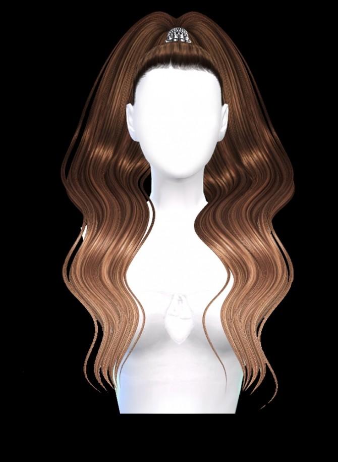 Sims 4 7 new hairstyles (P) at Luxuriah Sims
