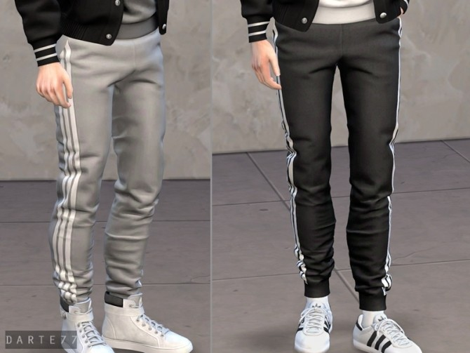 Slim Fit Joggers at Darte77 image 10517 670x503 Sims 4 Updates