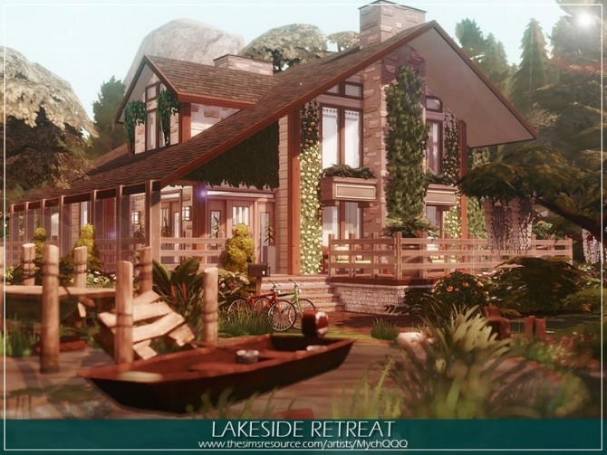 Lakeside Retreat by MychQQQ at TSR image 1065 670x503 Sims 4 Updates