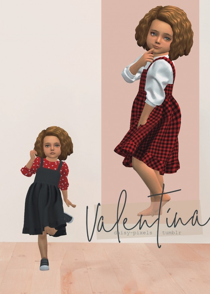 Valentina Dress at Daisy Pixels image 1072 670x937 Sims 4 Updates