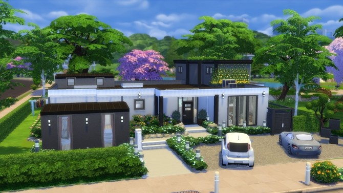 Esthétia house by Falco at L'UniverSims image 10721 670x377 Sims 4 Updates