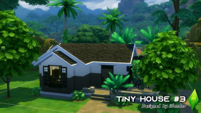 Tiny house #3 NO CC by iSandor at Mod The Sims image 10722 670x377 Sims 4 Updates