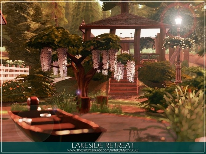 Lakeside Retreat by MychQQQ at TSR image 1075 670x503 Sims 4 Updates