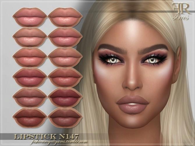 Sims 4 FRS Lipstick N147 by FashionRoyaltySims at TSR