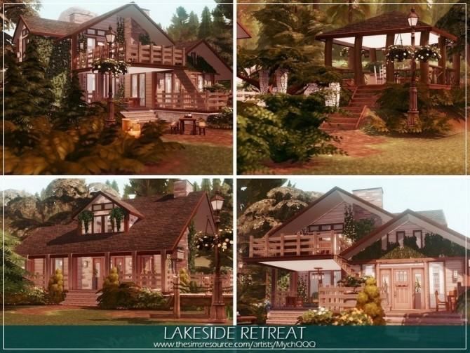 Lakeside Retreat by MychQQQ at TSR image 1085 670x503 Sims 4 Updates