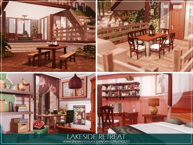 Lakeside Retreat by MychQQQ at TSR image 1094 670x503 Sims 4 Updates
