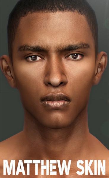 Sims 4 Matthew Skin by thisisthem at TSR