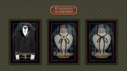 Sims 4 Kingsman collabo set at Kiro