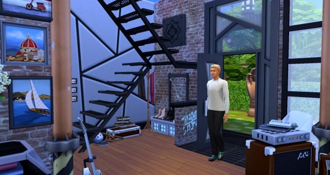 Sims 4 The revolution House by Coco Simy at L'UniverSims