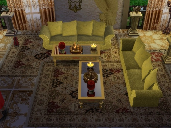 Sims 4 Another Time & Place Rugs at Anna Quinn Stories