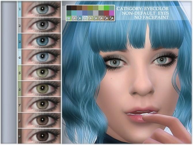 Sims 4 Natural eye colors 09 NON DEFAULT by BAkalia at TSR