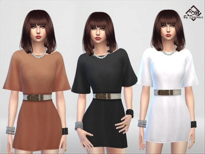 Sims 4 Spring Coming Soon Dress by Devirose at TSR