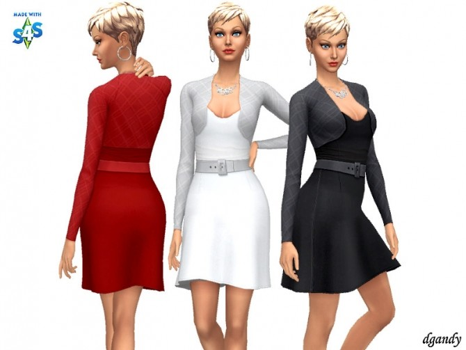 Sims 4 Dress 202003 04 by dgandy at TSR
