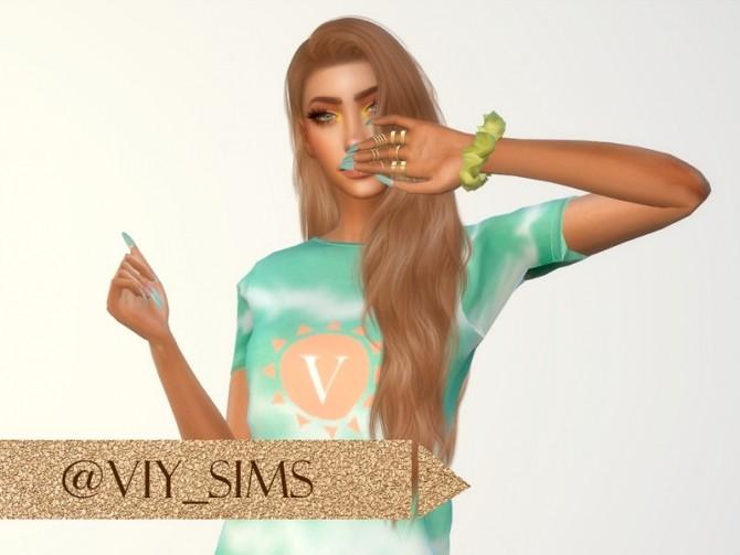 Sims 4 SHIRT 22Y II by Viy Sims at TSR