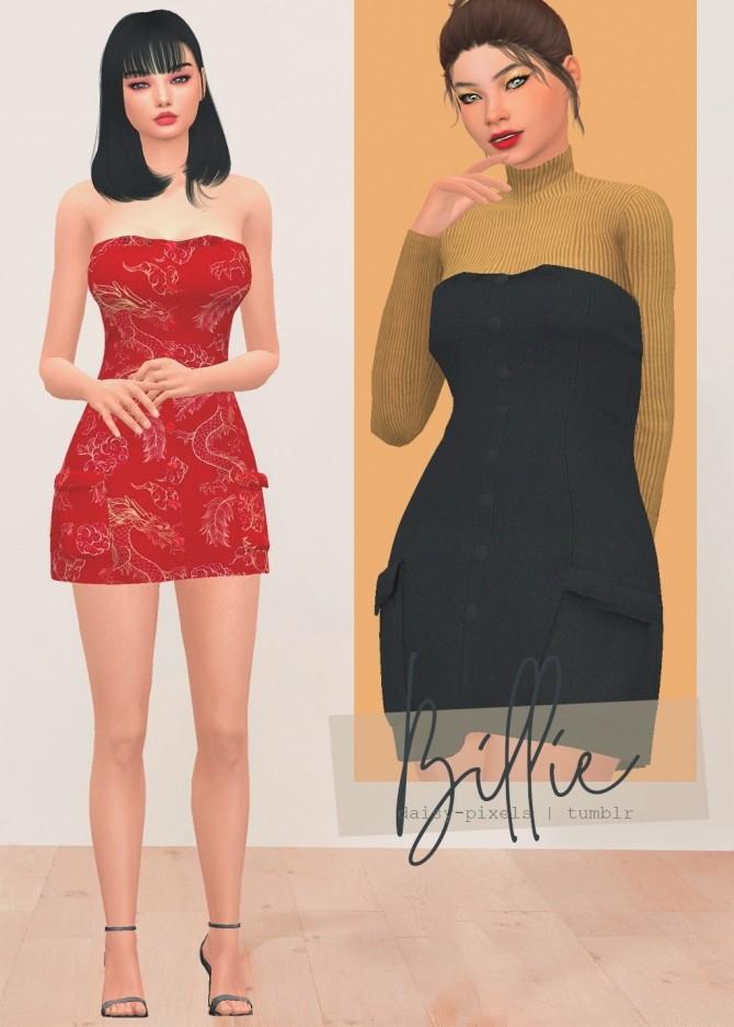 Billie Dress + Acc Bodysuit at Daisy Pixels image 11318 670x937 Sims 4 Updates