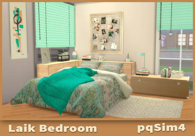 Sims 4 Laik Bedroom at pqSims4