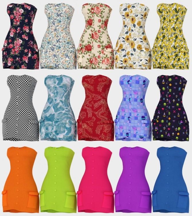 Billie Dress + Acc Bodysuit at Daisy Pixels image 11518 670x753 Sims 4 Updates