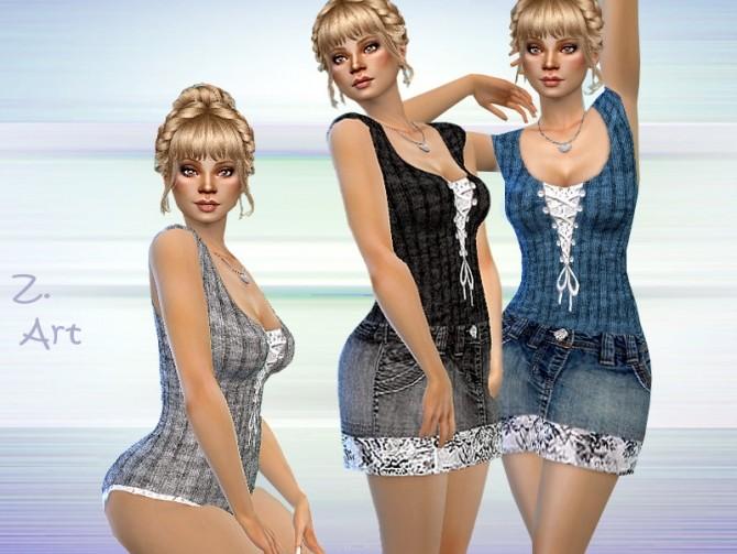 Sims 4 Bodysuit by Zuckerschnute20 at TSR