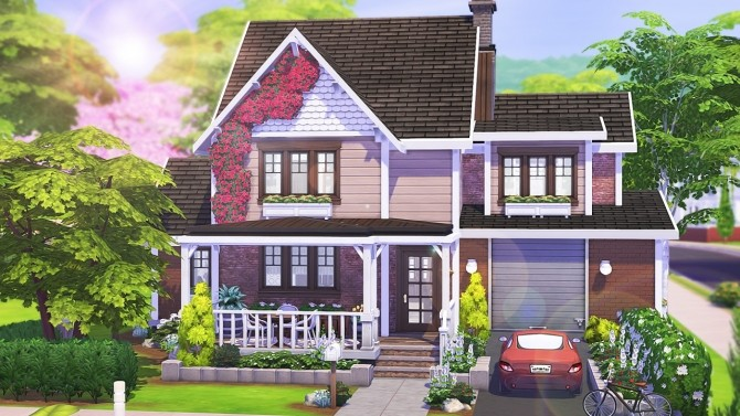 Sims 4 WELCOMING RUSTIC FAMILY HOME at Aveline Sims