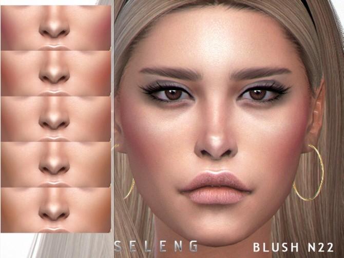 Sims 4 Blush N22 by Seleng at TSR