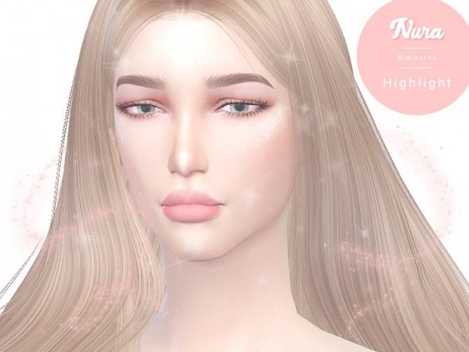 Sims 4 Nura Highlighter at Kiminachu CC